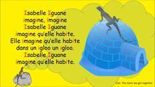 Isabelle Iguane Phonétique