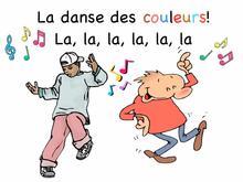 La danse des couleurs