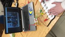 Makey Makey Guitar Hero with Pencil Lead