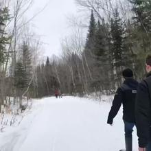 OP 110... Snowshoeing Time Lapse